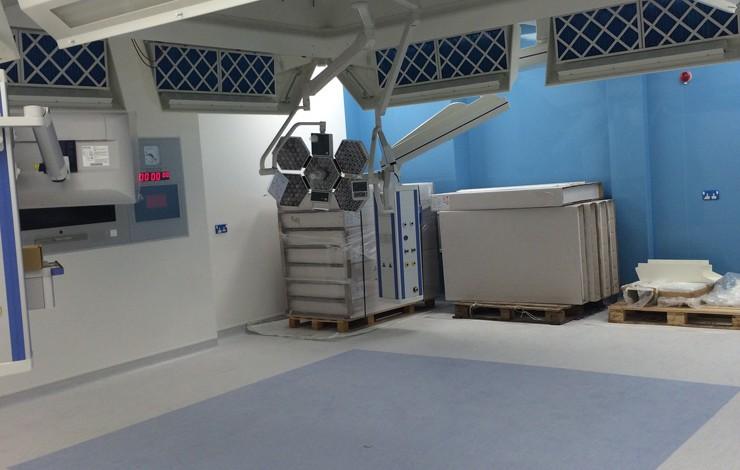 Leighton Hospital, Crewe, New Theatres Extension